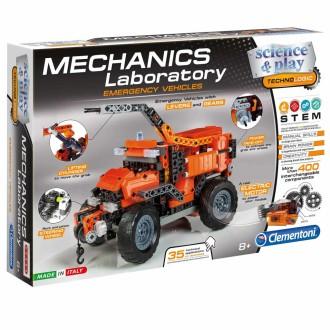 Clementoni Jeu Construction Laboratoire Mécanique Science & Play 66827