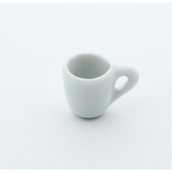 Mug Vide Miniature En Pâte Polymère - Décoration Gourmande Pâte Fimo - Photo n°1