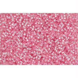 Toho Treasure 11/0 Tube 9/10gr - TT-01-38 - Silver Lined Pink