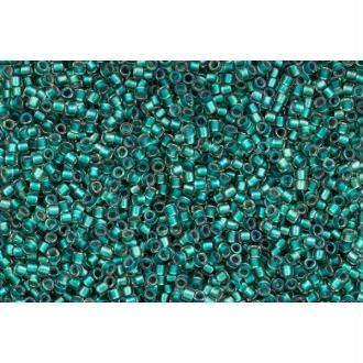 Toho Treasure 11/0 Tube 9/10gr - TT-01-264 - Inside Color Rainbow Crystal / Teal