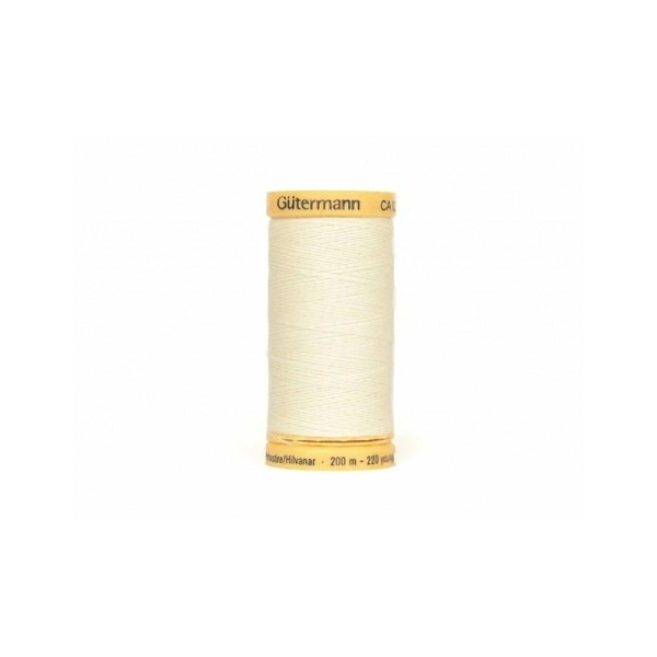 Fil à Bâtir Gutermann 200 m - N°919 écru - Photo n°1