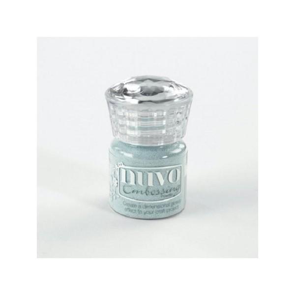 Tonic Studio Nuvo Embossing Powder - Serenity blue - Photo n°1