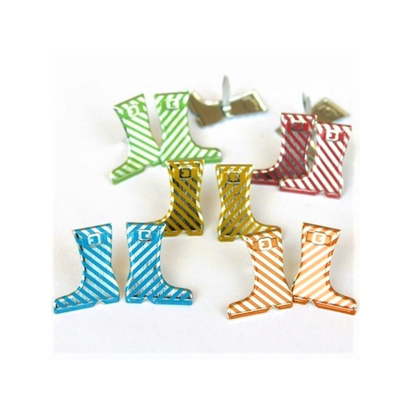 0aa5d26451bd1 10 Attaches parisiennes bottes de pluie brads scrapbooking - Attache ...