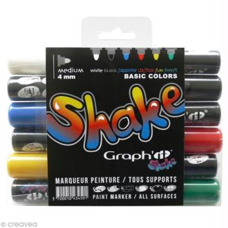 Graph'it shake 4 mm - Set Basique x 6