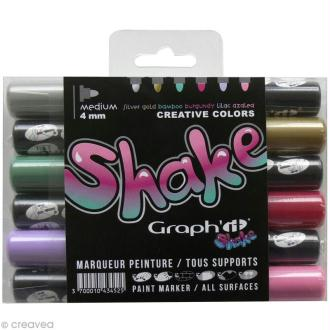 Graph'it shake 4 mm - Set Créatif x 6