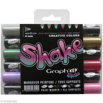 Graph'it shake 4 mm - Set Créatif x 6