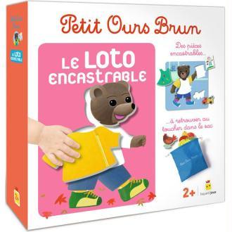 Petit Ours Brun - Le Loto Encastrable