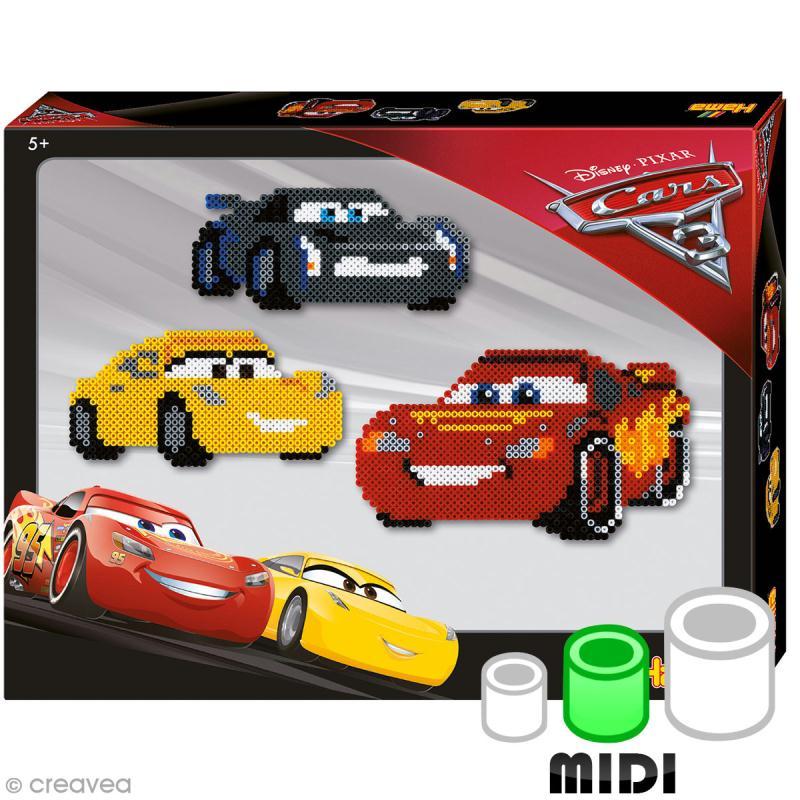 Kit Perles Hama Midi - Disney Cars - 4000 perles - Photo n°1