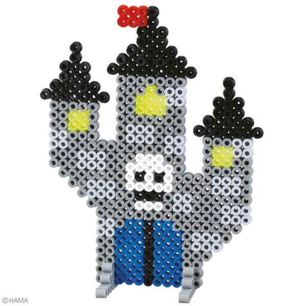Perles Hama Midi - Coffret Halloween - 2000 perles - Photo n°3