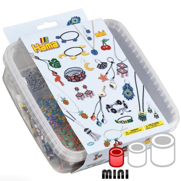 Kit Perles Hama Mini - Accessoires colorés - 10500 perles - Photo n°1