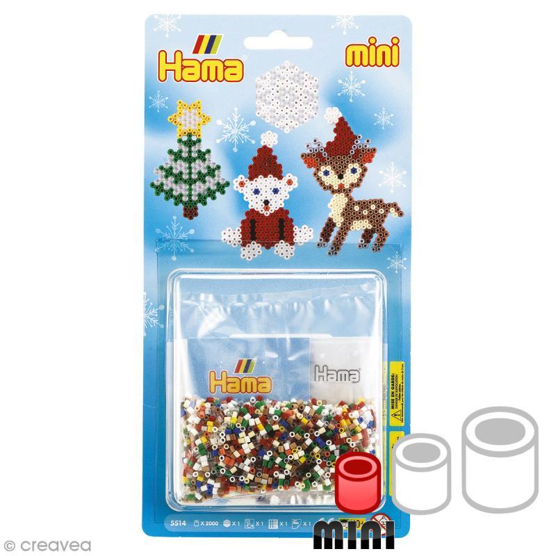 Mini kit Perles Hama Mini - Noël 2 - 2000 perles - Photo n°1