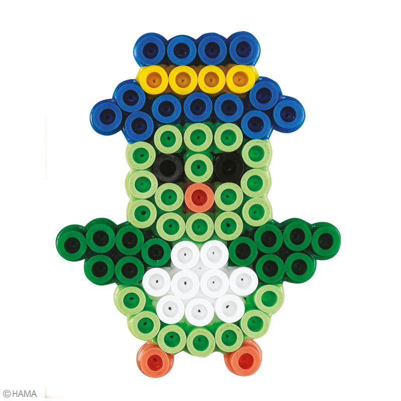 Perles Hama Maxi diam. 1 cm - Coffret Voiture et ourson - 900 perles - Photo n°3