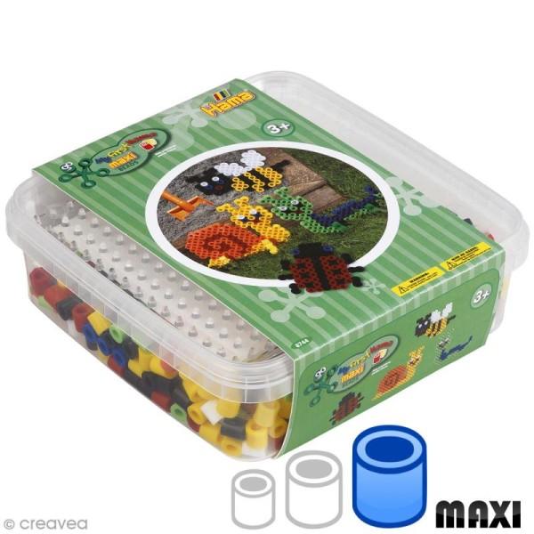 Kit Perles Hama Maxi - Insectes - 600 perles - Photo n°1