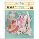 Chipboard Carton - Baigneuses - 20 pcs - Photo n°1