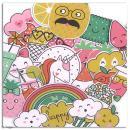 Die cut Toga - Happy Days - 58 pcs - Photo n°3