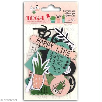 Die cut Toga - Enjoy the Little Things - 38 pcs