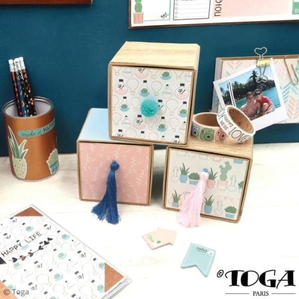 Kit porte-clés grigris Toga - Enjoy the Little Things - 2 pcs - Photo n°4
