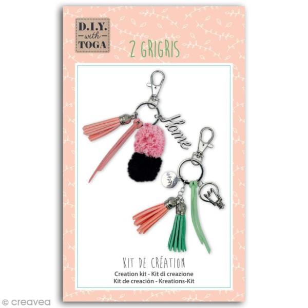 Kit porte-clés grigris Toga - Enjoy the Little Things - 2 pcs - Photo n°1