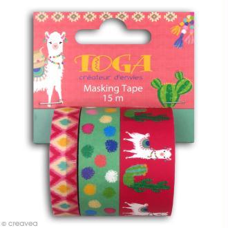 Masking tape Toga - Oh Lamaa - 3 pcs