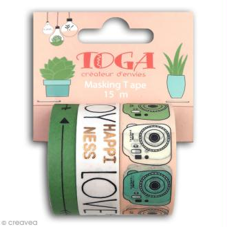Masking tape Toga - Enjoy the little things - 3 pcs