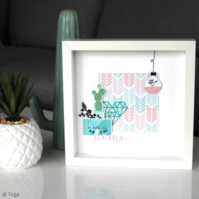 Stickers Toga - Enjoy the Little Things - 2 planches de 15 x 15 cm - Photo n°4