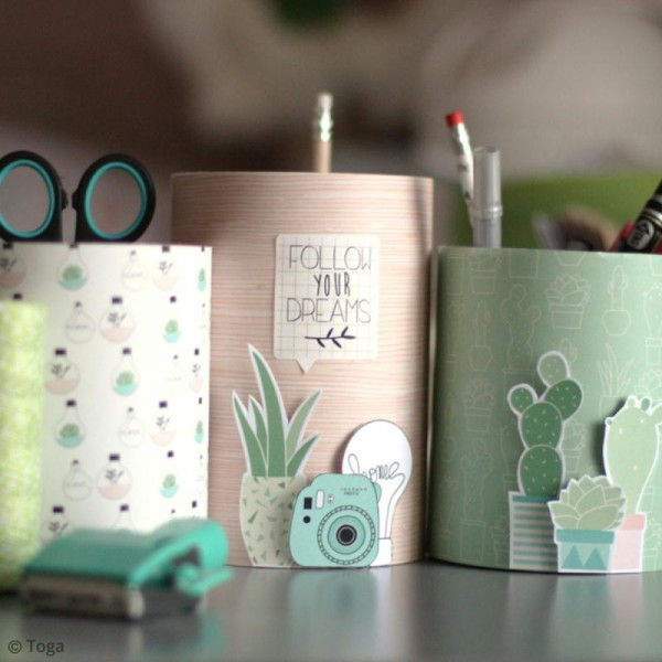 Stickers Toga - Enjoy the Little Things - 2 planches de 15 x 15 cm - Photo n°3