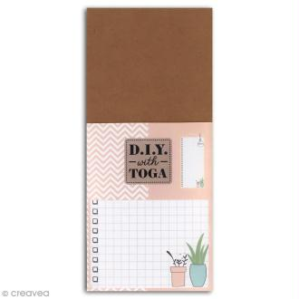 Bloc Notes To do List - Enjoy the Little Things - 8 x 18,5 cm - 100 pages