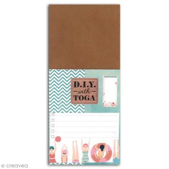 Bloc Notes To do List - Baigneuses - 8 x 18,5 cm - 100 pages