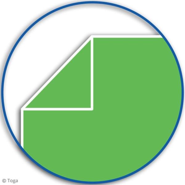 Carnet de poche bicolore - 60 pages - Bleu et vert - 10 x 15 cm - Photo n°5