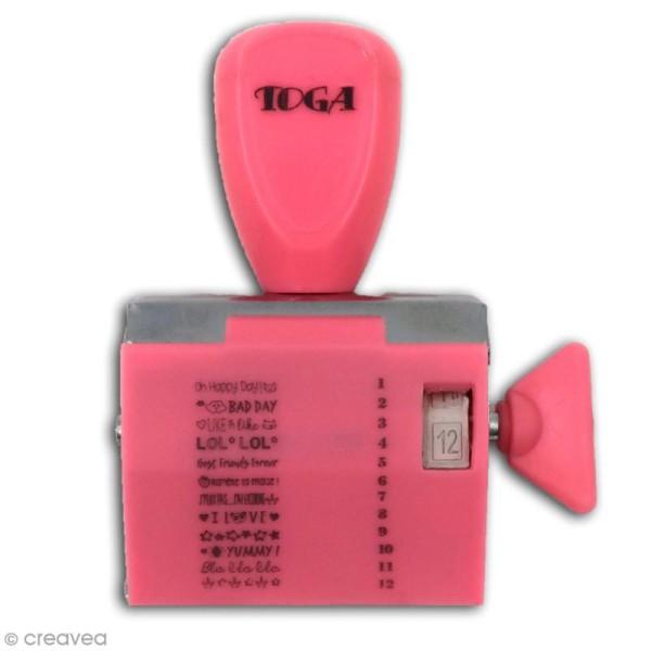 Tampon à molette Toga - Happy Days - 12 messages - Photo n°2