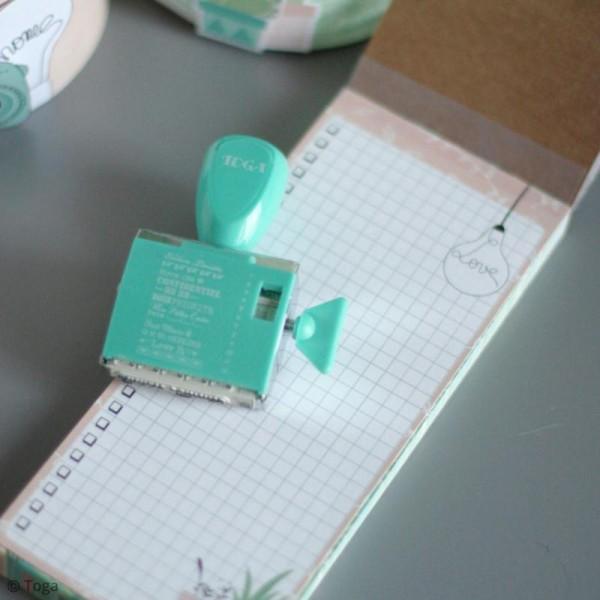 Tampon à molette Toga - Happy Days - 12 messages - Photo n°3
