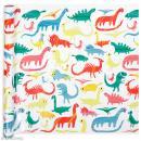 Rouleau papier cadeau - Dinosaures - 50 cm x 5 m - Photo n°1