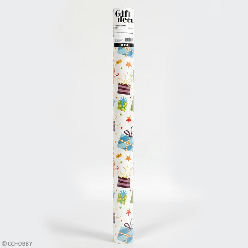 Rouleau papier cadeau - Cadeaux - 50 cm x 5 m - Photo n°2