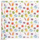 Rouleau papier cadeau - Cadeaux - 50 cm x 5 m - Photo n°1