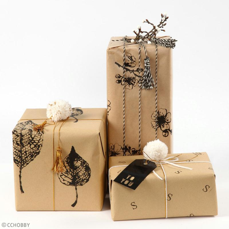 Rouleau papier cadeau - Fête - 50 cm x 5 m - Photo n°3