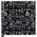 Rouleau papier cadeau - Cactus blancs - 50 cm x 53 m - Photo n°1