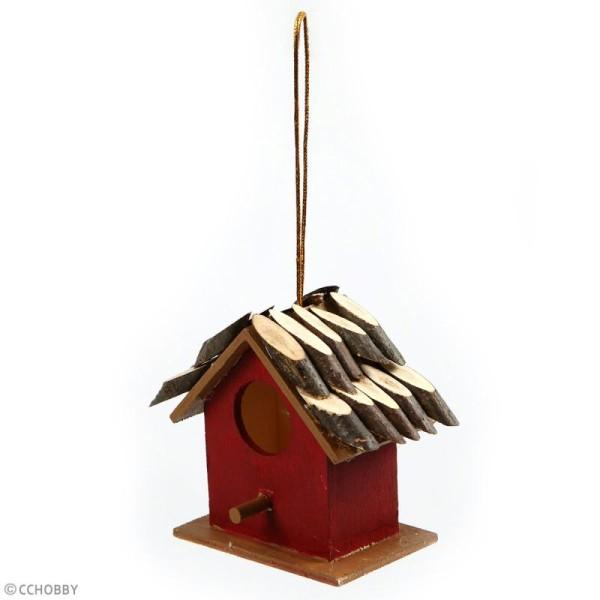 Rondelles de bois décoratives - biseautées - 3 cm - 230 g - Photo n°3