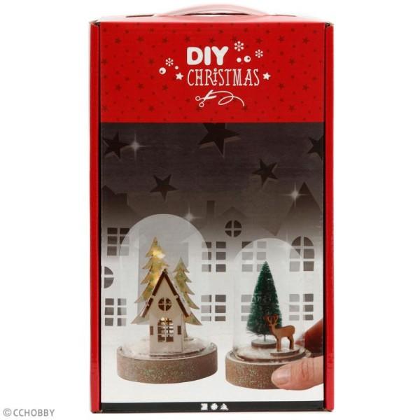 Kit cloches de Noël décoratives -  10 cm et 12,5 cm - 2 pcs - Photo n°2