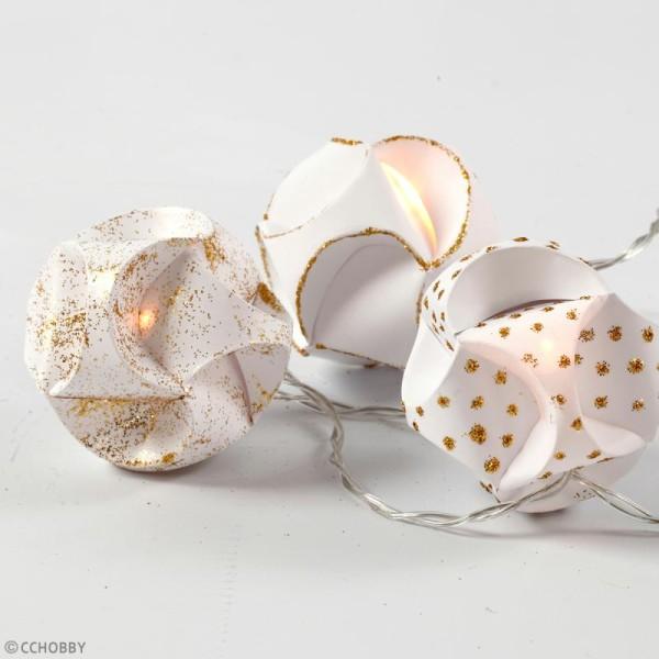 Guirlande lumineuse mini LED à piles - 20 LED - 315 cm - Photo n°2