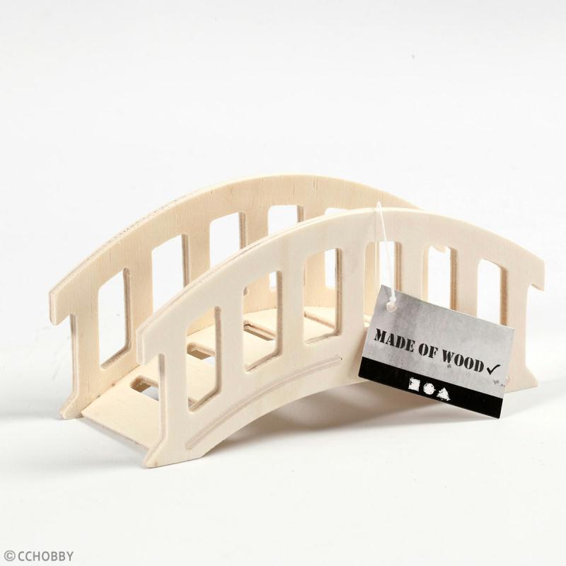 Pont décoratif miniature - 14,5 x 7 x 6 cm - Photo n°2