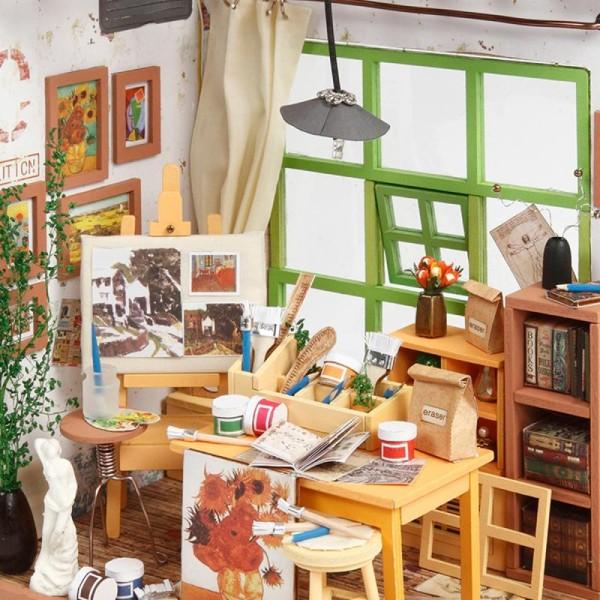 Kit maquette - Mini décor Atelier de couture - Photo n°3