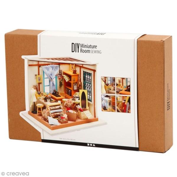 Kit maquette - Mini décor Atelier de couture - Photo n°1