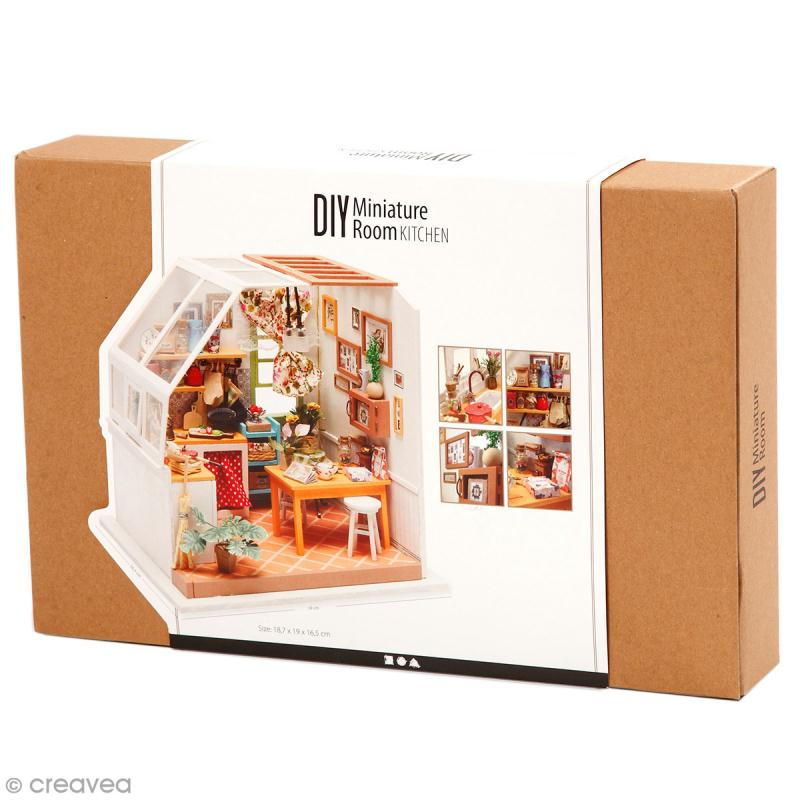 Kit maquette - Mini décor Cuisine - Photo n°1