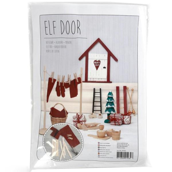Kit décoration lutin de Noël - 14 pcs - Photo n°1