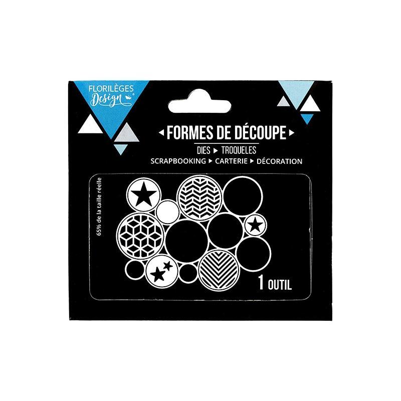 outil de d coupe des cercles matrice de d coupe creavea. Black Bedroom Furniture Sets. Home Design Ideas