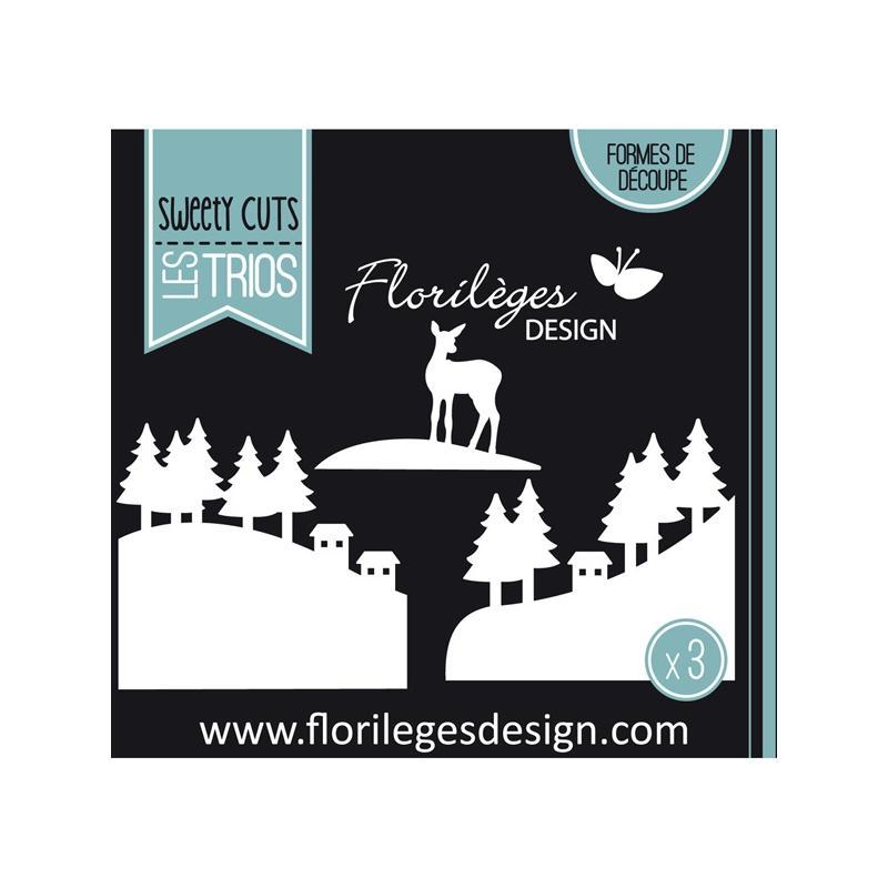 outil de d coupe paysages d 39 hiver matrice de d coupe. Black Bedroom Furniture Sets. Home Design Ideas
