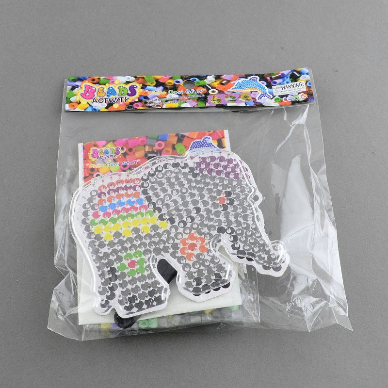 Kit elephant perles repasser pour enfants jeux - Perle pour enfant ...
