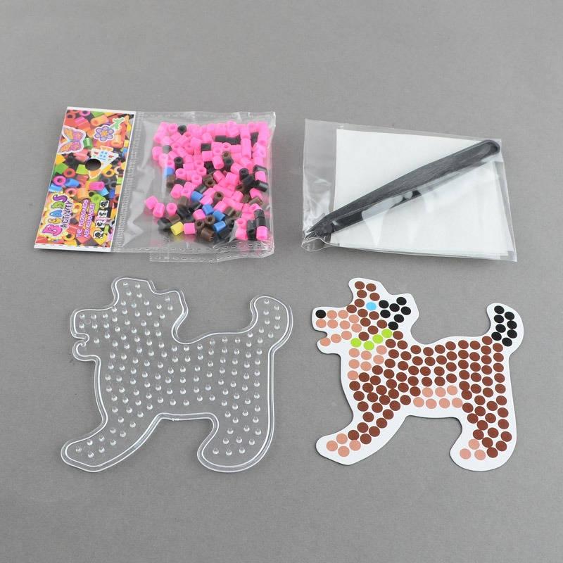 Kit chien perles repasser pour enfants jeux ducatifs - Perle pour enfant ...