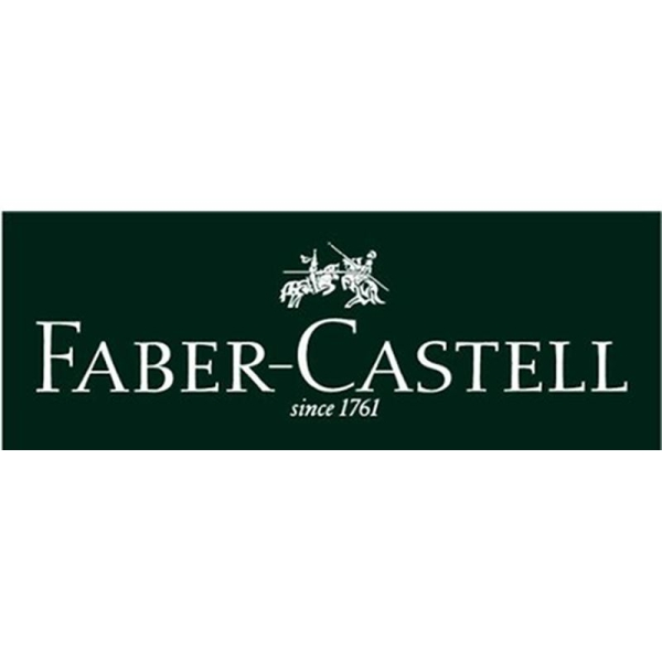 Faber-Castell Basic Stylo plume Plume extra-fine Cuir Noir (Import Royaume Uni) - Photo n°3