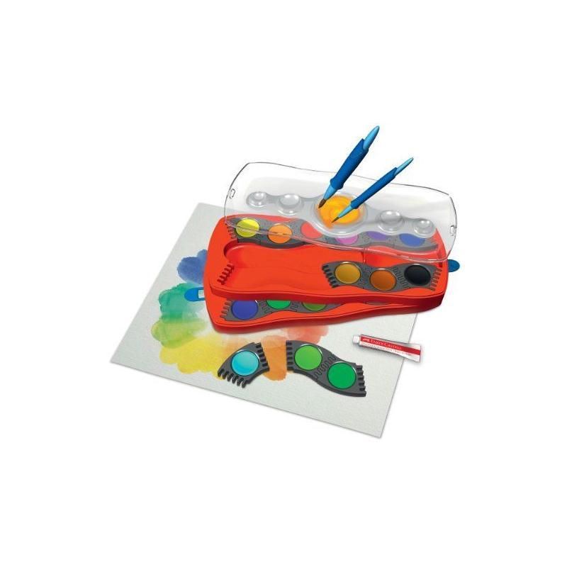 Faber-Castell Palette de peinture 24 couleurs (Import Royaume Uni) - Photo n°2